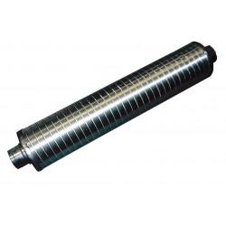 Silencieux flexible DN 125 L:1000mm - isolant 50mm