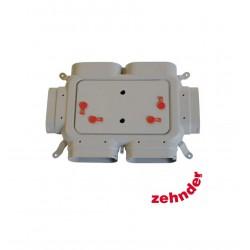 Distributeur Zehnder ComfoFlat 4 raccordements